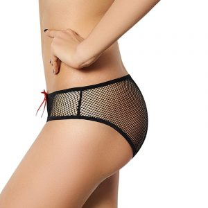 Fishnet Panties - Womens Fishnet Panties See Through Panties Mesh Panties Plus Size Panties Fishnet Underwear Bow Panties