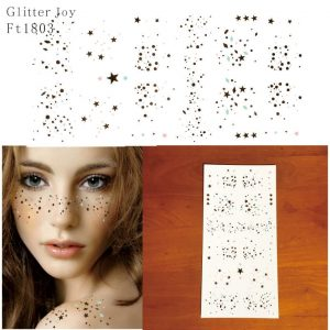 Temporary Freckle Tattoos - Womens Festival Freckle Temporary Tattoos Glitter Tattoo Freckles Star Freckle Sticker