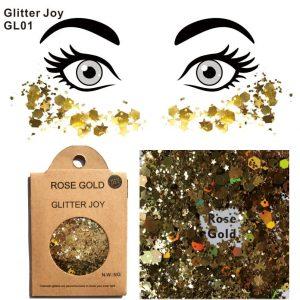 Chunky Gold Glitter - Rave Chunky Gold Glitter Festival Face Glitter