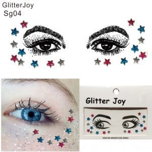 Star Face Stickers - Festival Star Face Stickers Rhinestone Star Face Gems Face Jewels