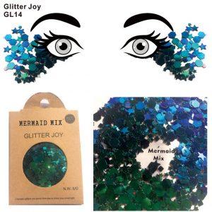 Mermaid Face Glitter - Mermaid Glitter Chunky Blue Green Face Glitter Festival Body Glitter
