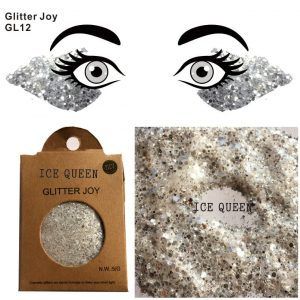 Chunky Silver Glitter - Womens Festival Silver Face Glitter Rave Eye Glitter Silver Body Glitter Makeup