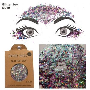 Chunky Holographic Glitter - Rave Chunky Holographic Glitter Mixed Colour Glitter Hair Glitter Festival Face Glitter
