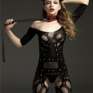 Crotchless Bodystocking - Womens Body Stocking Fishnet Mesh Body Stocking Long Sleeve Body Stocking