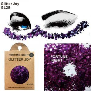 Chunky Purple Glitter - Chunky Purple Glitter Violet Glitter Festival Large Face Glitter