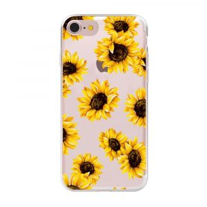 Sunflower Phone Case - Sunflower Phone Case Floral Soft Clear Flower Phone Cover