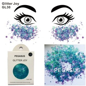 Turquoise Glitter - Chunky Turquoise Glitter Festival Face Glitter