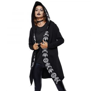 Witch Hoodie - Womens Witch Hoodie Gothic Hooded Jacket Plus Size Hoodie Witch Jacket Gothic Hoodie